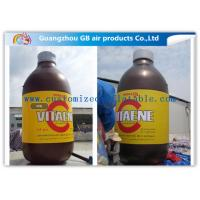 Buy cheap Giant Bottle Outdoor Inflatable Advertising Signs Strong PVC Tarpaulin product
