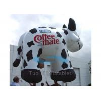 Buy cheap Huge Inflatable Cow Helium Advertising Balloons With 38M Foot Long Tether Line product