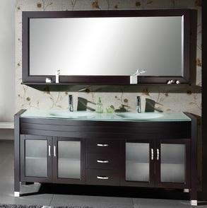 Buy cheap Bathroom Furniture-79 Wooden Bathroom Vanity\Bathroom Cabinet (BLS8129) product