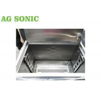 Buy cheap BBQ Grill Plate Oil Carbon Degrease Clean Tank 258L With Lockable Castor Wheels product