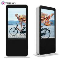 Buy cheap Kiosk 3500 Nits Standing Digital Signage Embedded A/C Windows 10 OS I5 CPU Advertising Poster from wholesalers