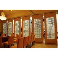 Buy cheap Interior Sliding Door Acoustic Dining Room Dividers 500 / 1200mm Width product