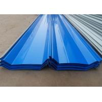 China ASTM Colored Corrugated Metal Sheets PPGI PPGL Roof Tiles Zn Al-Zn Coating on sale