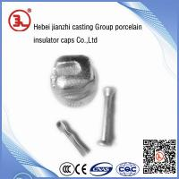 China overhead line accessories-porcelain insulator cap on sale