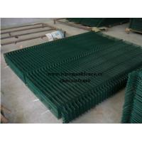 Buy cheap PVC Coated Wire Mesh Panel (Green),Garden Fence Panel,Security Fence Panel  product