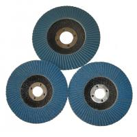 Buy cheap Angle Grinder Abrasive Flap Disc Zirconia aluminium oxide Conical Sanding Disc Fiberglass product