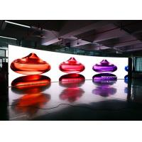 China High Resolution Curved Indoor Led Video Wall P2.9 P3.9 Full Color Led Screen wholesale