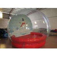 Buy cheap Outdoor Inflatable Christmas Decorations Crystal Ball Airtight Dia3m Pvc Tarpaulin product