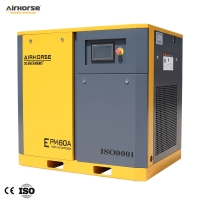 Buy cheap 60HP Power saving screw air compressor with Permanent Magnet Synchronous Motor from wholesalers