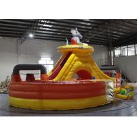 Buy cheap Customized Mickey Mouse Bounce House , Blow Up Fun House With Tunnel product