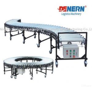 Buy cheap Flexible Extendable Motorized Roller Conveyor product