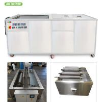 Buy cheap Anilox Roller Ultrasonic Cleaning Equipment	6KW Heating Power For Various Roller product