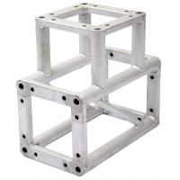 China Recyclable 3 Way Screw Corner Aluminum Lighting Truss For Advertisement wholesale