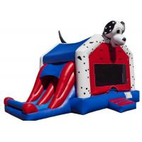Buy cheap Spotty Dog Inflatable Bounce House Jumping Bouncer 0.9mm Plato PVC For Amusement Park product