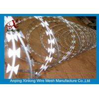 Buy cheap Stainless Steel BTO-22 Concertina Razor Wire / Security Barbed Wire product