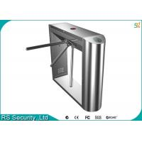 Barrier Gate Bidirectional Waist Height Turnstiles For Supermarket Entrance