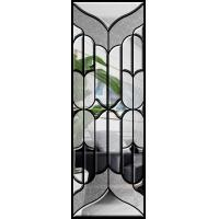 Buy cheap Colourful Decorative Door Glass , Clear Solid Glass Zinc / Patina / Nickel product