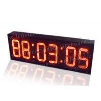 Buy cheap Super Brightness Red Digital Clock , Digital Time Clock For Train Station from wholesalers
