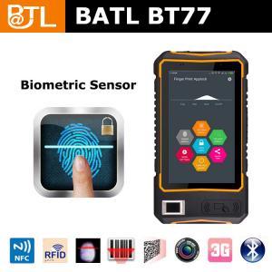 China BATL BT77 3g quad core wifi bluetooth fingerprint scanner tablet with hand strap on sale