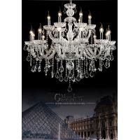 Buy cheap Free Shipping Large crystal chandelier 18 Arms Luxury crystal light Fashion chandelier crystal light Modern Large product