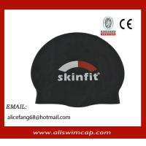 China custom swim caps no minimum college swim caps on sale