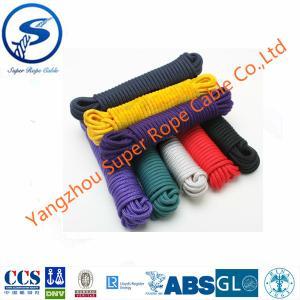 Colora o Multifilament dos PP, pp trançados rope, pp trançou a corda marinha, corda plástica, corda trançada pe