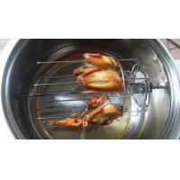 Oiless Air Fryer With Rotisserie Function Viewing Glass