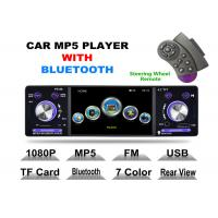Buy cheap Front USB 2.0 Port 4 Inch Touch Screen Cd Player For Car With Bluetooth Detachable Panel product