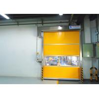 Electric Interior Industrial High Speed PVC Rolling Door Automatic Fast Roll Up Door