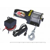 China Portable Permanent magnet ATV Electric Cable Pulling Winch / Winches on sale