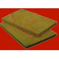 Buy cheap Exterior Insulation System Rock Wool Insulation Board / Sheet  Sound and Heat Insulated Material product