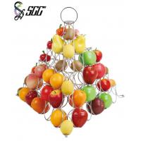 Buy cheap Silver Plated Fruit Display Stand Catering Display Stands / Buffet Display Equipment from wholesalers