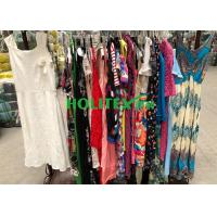 Used women's clothing , ladies cotton dress , first grade British style second hand clothes