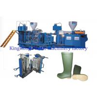 China Multi Colors Women Men Gumboots Shoe Factory Machinery 16/12 PCS Mold Stations wholesale