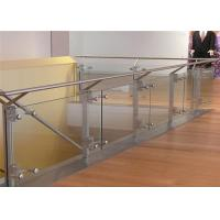 China Stainless steel glass balustrade railing post on sale