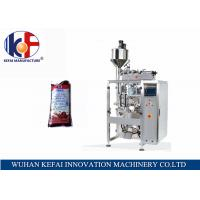 Buy cheap KEFAI big bag automatic liquid packing machine price chili sauce filling and sealing bag machine from wholesalers