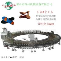 Buy cheap PU shoe making machine automatic system save power and labor product