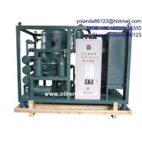 China High Vacuum Oil Dehydration Plant, Oil Degassing, Oil Dehyrating System for Transformer Oil on sale