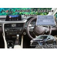 Buy cheap Android 7.1 Auto Navigation Interface for Lexus RX 200t 8 Inch Screen 2015-2018 from wholesalers