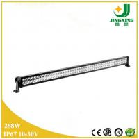 China 288w led light bars Epistar car led light bar 12v JX8801-288W wholesale