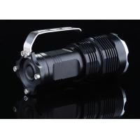 Buy cheap 2200 LM Waterproof High Power LED Flashlight , LED Hand Torch Flashlight product