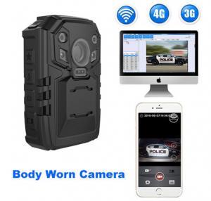 Buy cheap Камера несенная телом в реальном времени для полицейских, поддержка 3Г/4Г/ВИФИ п from wholesalers