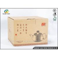 China Electric Appliance Kraft Paper Box , Brown Gift Boxes Easily Assembled on sale