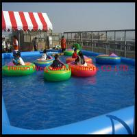 Buy cheap 0.9mm PVC Inflatable water pool for balls and boats product