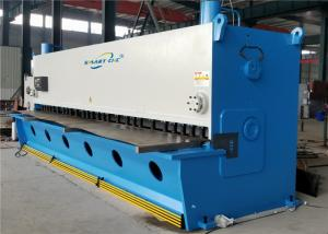 Buy cheap High Precision CNC Hydraulic Shearing Machine 6000mm Convenient Operation product