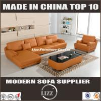 China Modern New Design Sectional Leather Couch With Genuine Pure Material(LZ-706) on sale
