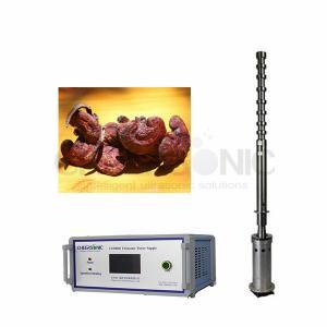China ультразвуковое оборудование извлечения травы 3000W для Ganoderma Lucidum IUIP3000 wholesale