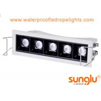 Buy cheap 5 * 2W Indoor Liner Light , 5 Holes Recessed Led Spotlights Cree XPE OSRAM from wholesalers