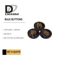Buy cheap Trim & Polyester Large Coat Buttons , Sourcing Unique Buttons For Clothing product