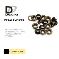 Buy cheap Anti-Brass Eyelets & Grommets For Garments Nickel Free Bulk Trims product
